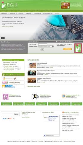 JWCH Institute screenshot