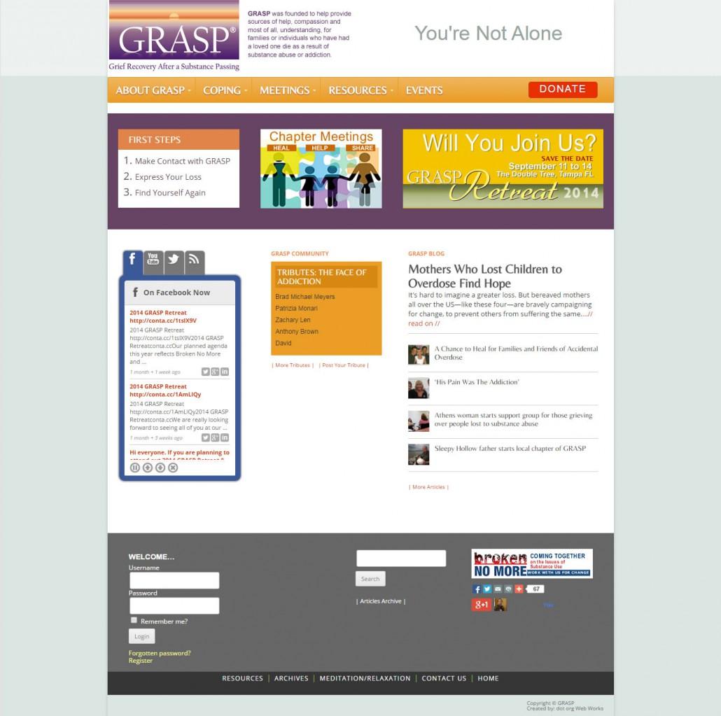 GRASP 2014 portfolio