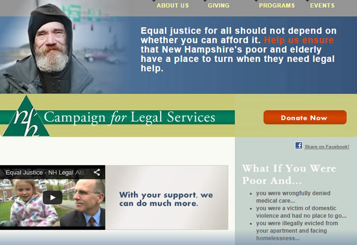 NH Campaign for Legal Services