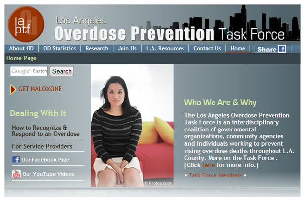 Overdose Prevention Task Force
