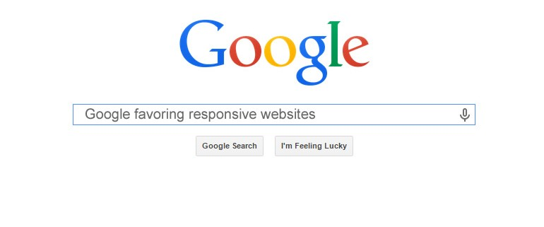 google favors responsive websites
