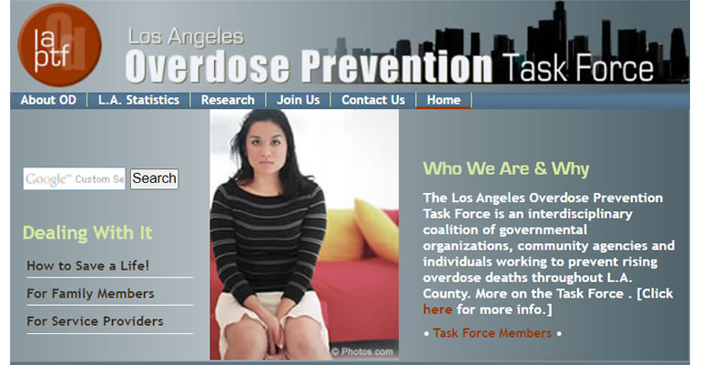 L.A. Overdose Prevention Taskforce